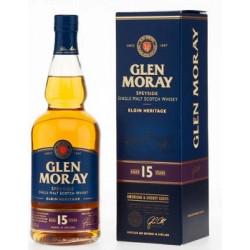 Glen Moray Elgin Heritage 15 Years
