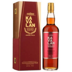 Kavalan Single Malt Whisky Sherry Oak 46% Vol. 700ml