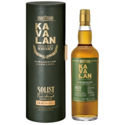 Kavalan Single Malt Whisky Ex Bourbon Cask Solist Strength Single Malt...