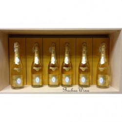 Louis Roederer Cristal Champagne zestaw 6 win