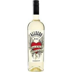 Allegro Chardonnay Organic White Wine Mare
