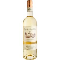 Cour de Mandelotte Bordeaux Blanc AOP Moelleux