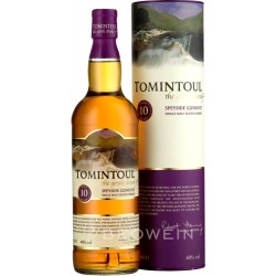 Tomintoul 10 Years Old Single Malt Scotch Whisky
