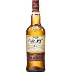 The Glenlivet 15 Years Single Malt Scotch Whisky