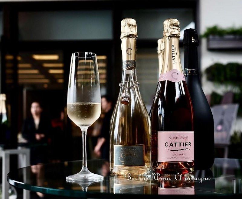 Champagne Cattier Francja