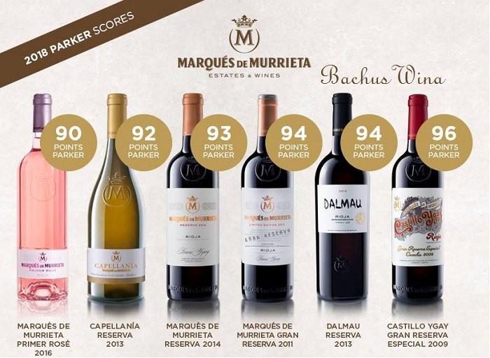 Marques de Murrieta - Hiszpania - Rioja, Rias Baixas